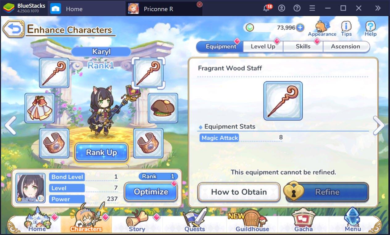 Tìm hiểu về hệ thống nhân vật trong Princess Connect! Re: Dive
