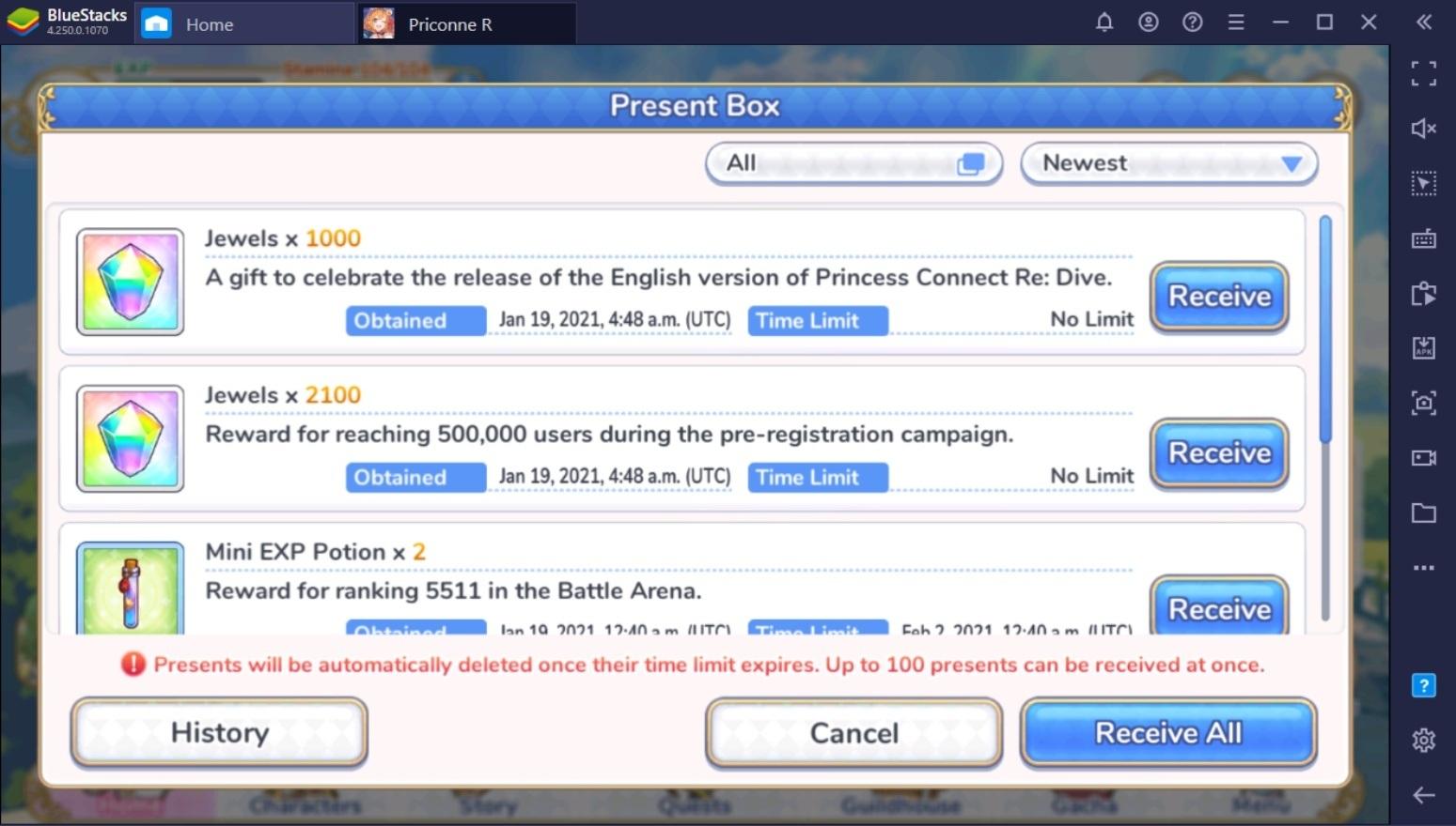 Princess Connect! Re:Dive phát hành bản quốc tế, tổ chức sự kiện hấp dẫn