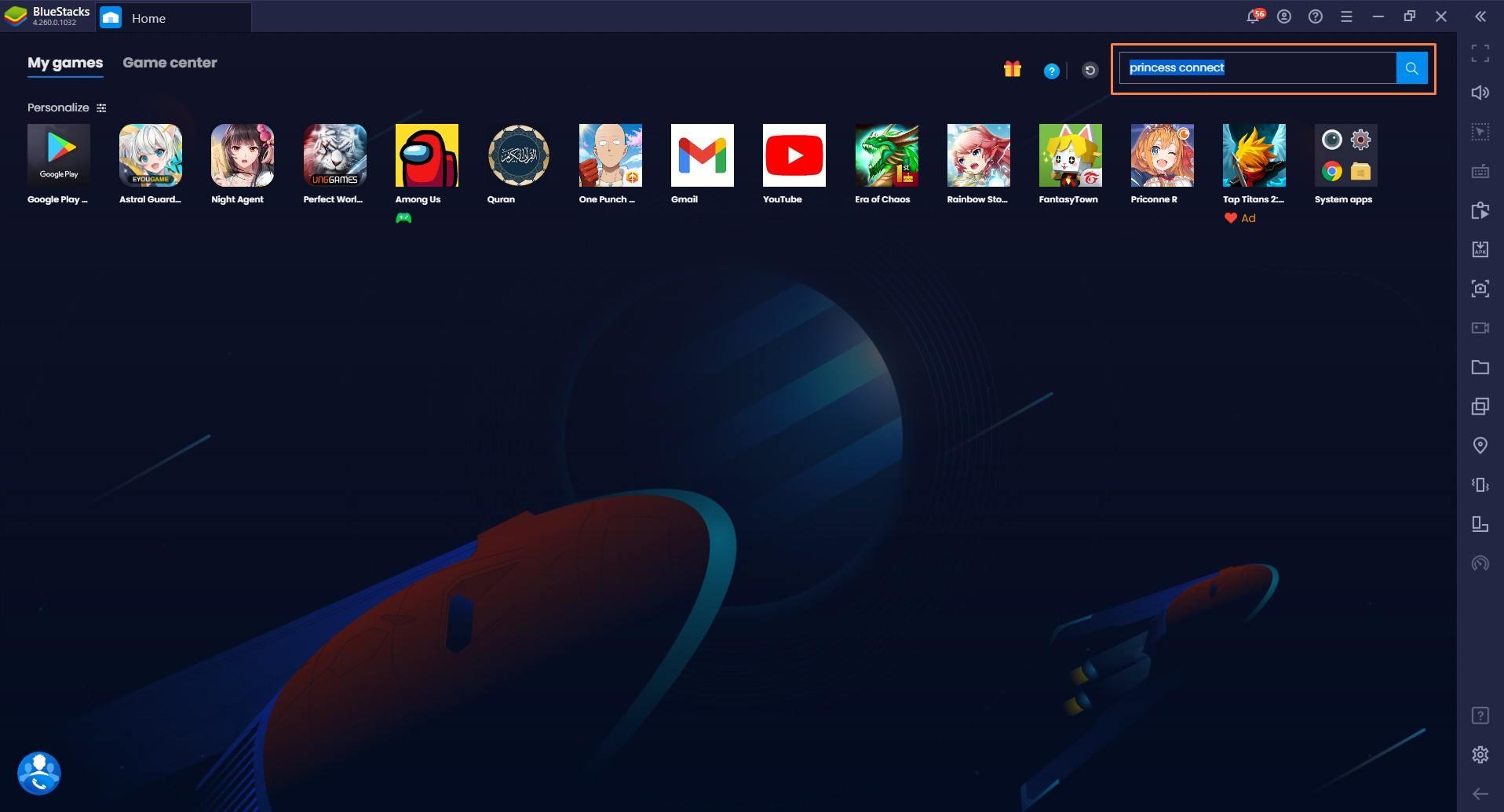 Cara Main Princess Connect! Re: Dive di PC dengan BlueStacks