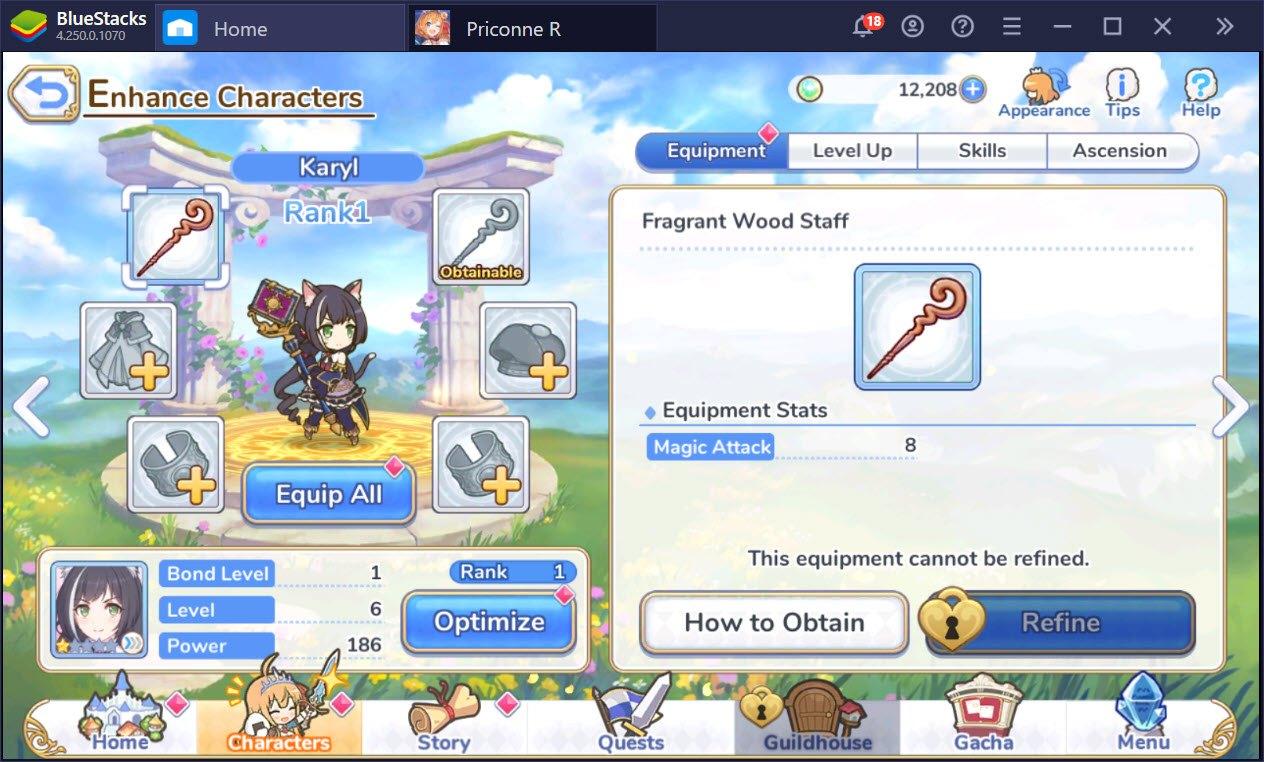Mẹo tối ưu để chơi Princess Connect! Re: Dive dễ dàng hơn