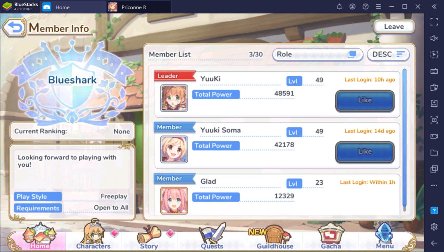 Beginner's Guide For Princess Connect! Re:Dive