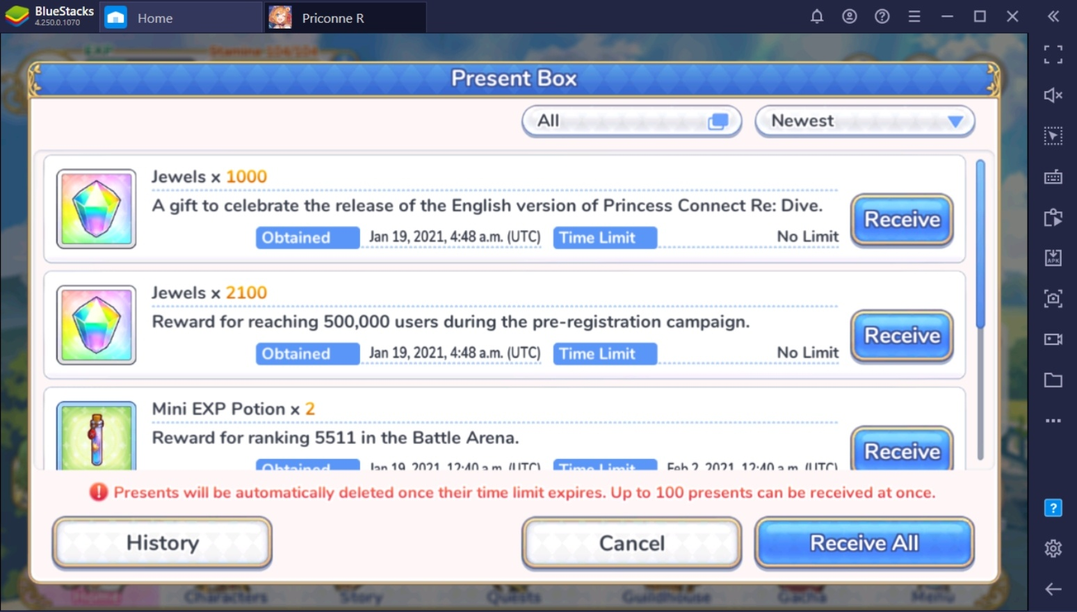 Princess Connect! Re:Dive Global Launch Event