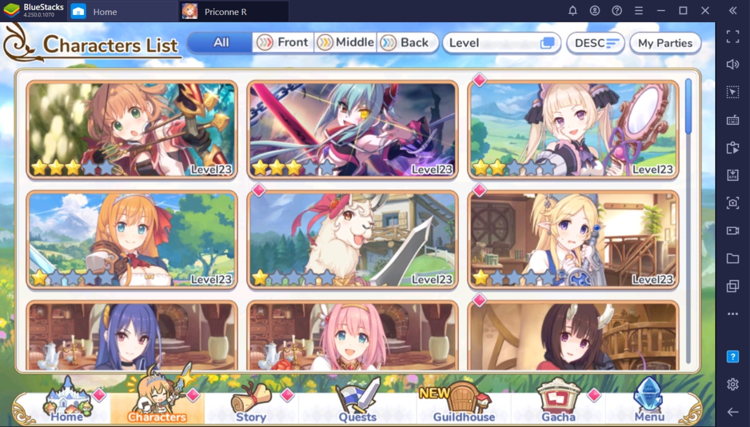 Princess Connect! Re: Dive Rerolling Guide on BlueStacks