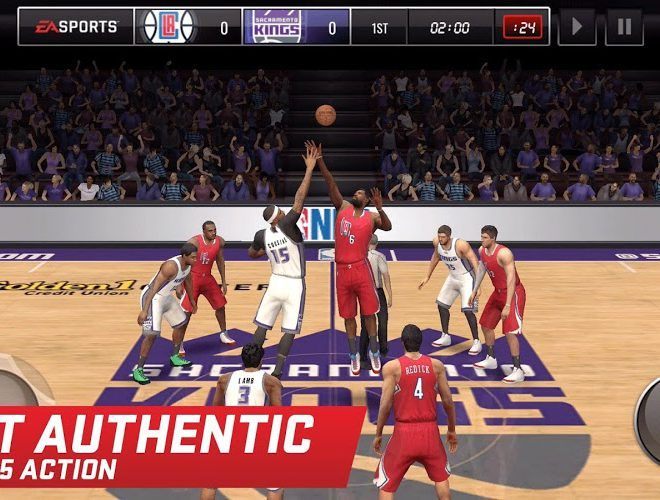 เล่น NBA LIVE Mobile on PC 3