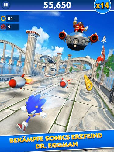 Spiele Sonic Dash auf PC 7