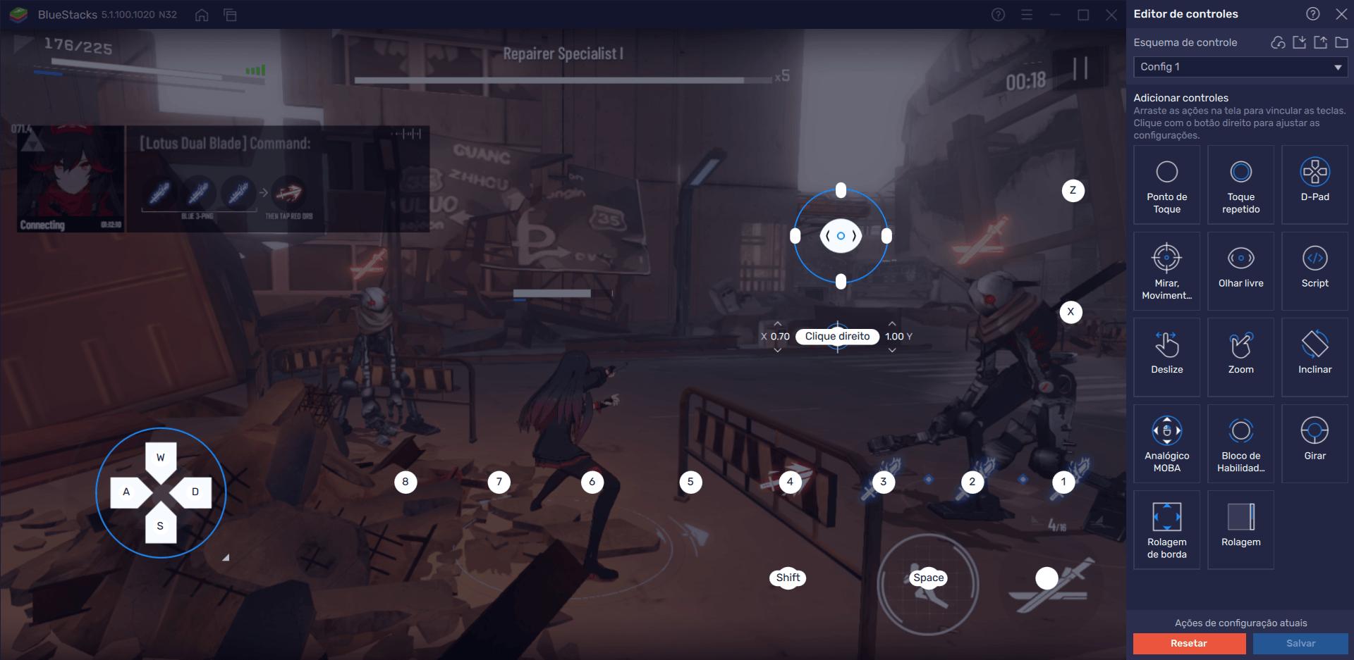 Como usar o BlueStacks para ter o máximo de desempenho no Punishing: Gray Raven