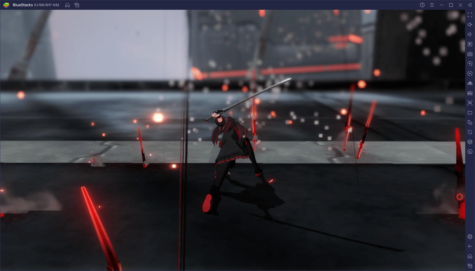 Punishing: Gray Raven – Como jogar PGR com o seu controle