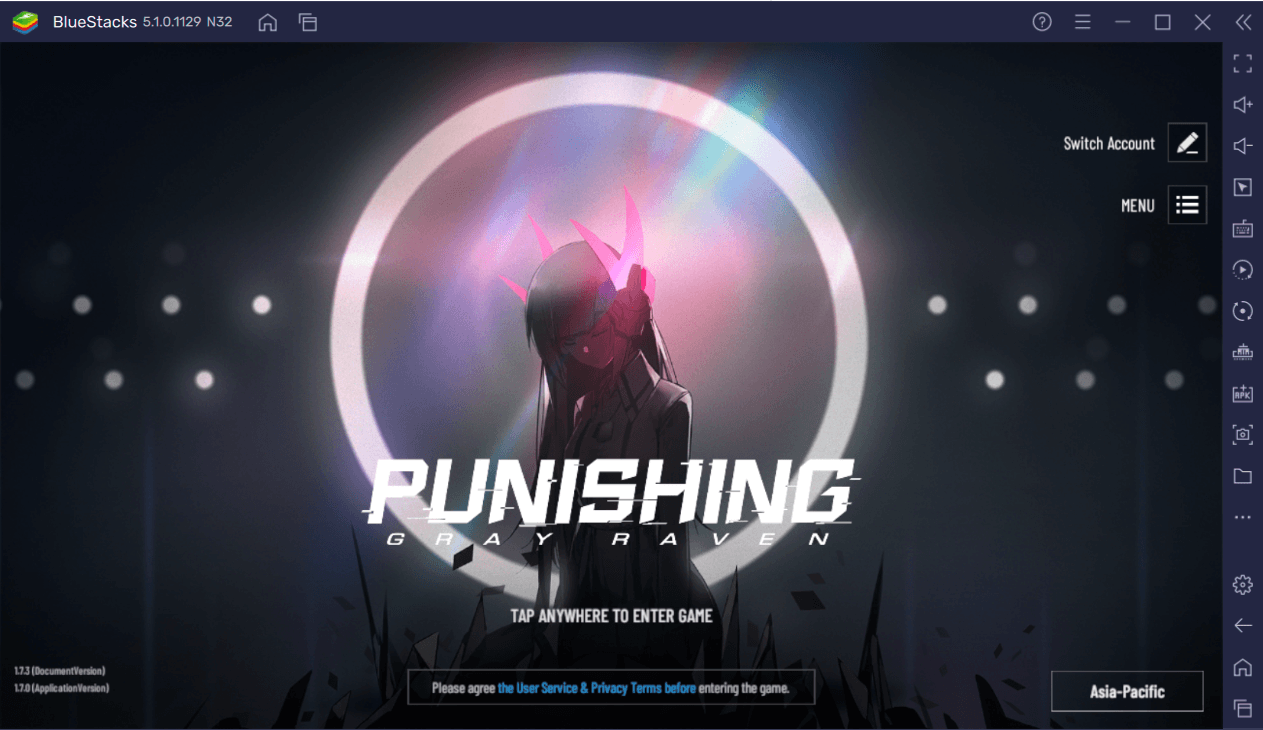 Como jogar Punishing: Gray Raven no PC usando o BlueStacks
