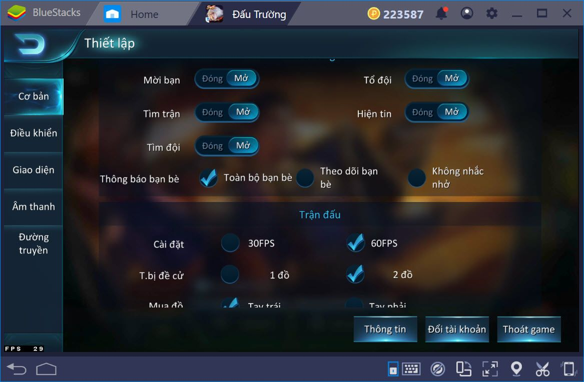 Cùng trải nghiệm AOG – Đấu Trường Vinh Quang trên PC với BlueStacks