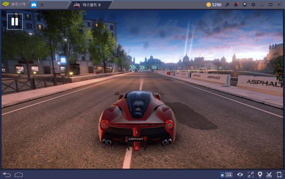 아스팔트9 PC에서 신나게 달리자! 블루스택으로 레이싱게임 즐겨요!