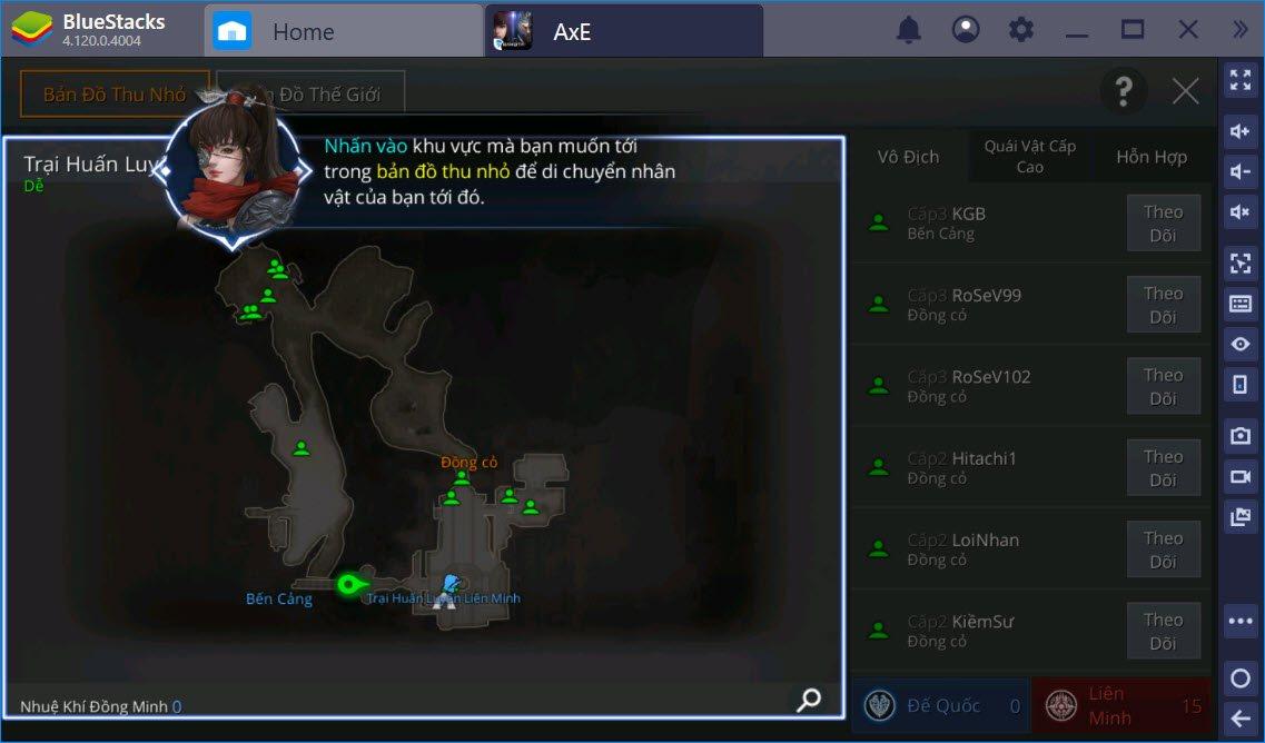 Cùng chơi AxE Alliance x Empire Việt Nam PC trên BlueStacks