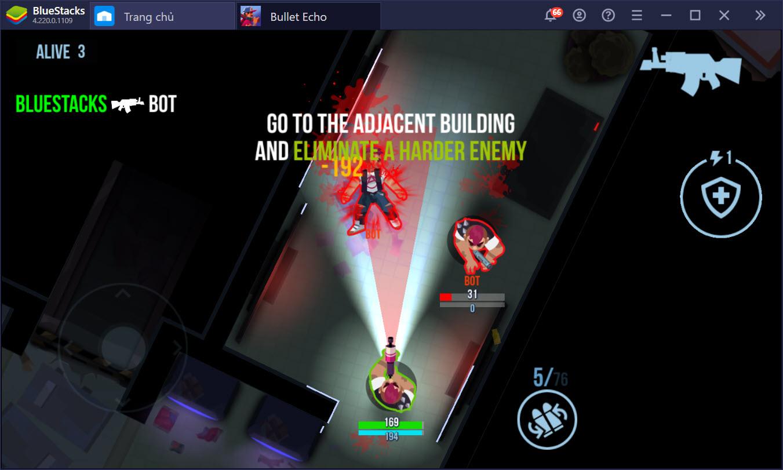 Sinh tồn trong thế giới 2D của Bullet Echo cùng BlueStacks