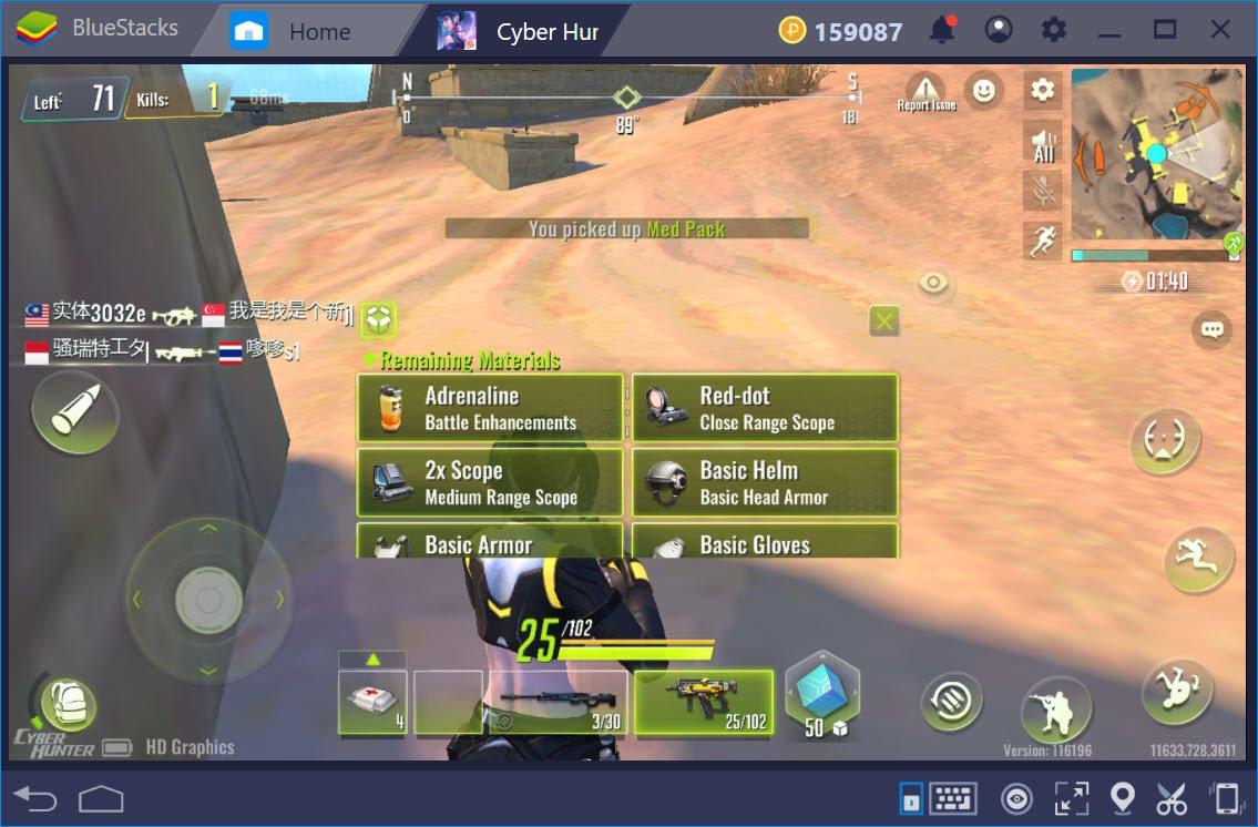 Trải nghiệm Cyber Hunter trên PC cùng BlueStacks