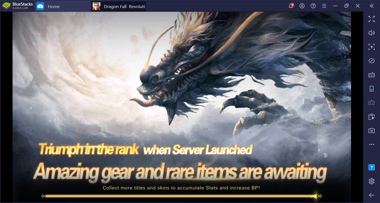 Cara Mudah dan Nyaman Main Dragon Fall: Revolution di PC