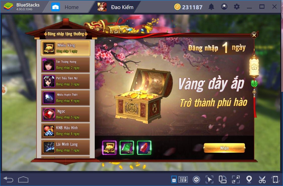 Cùng chơi Đao Phong Giang Hồ với BlueStacks trên PC