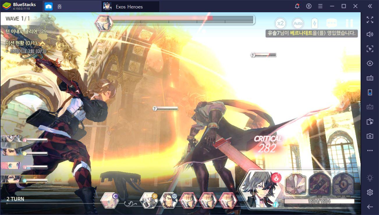 비쥬얼 최강 RPG, 엑소스 히어로즈를 BlueStacks로 즐겨보자!
