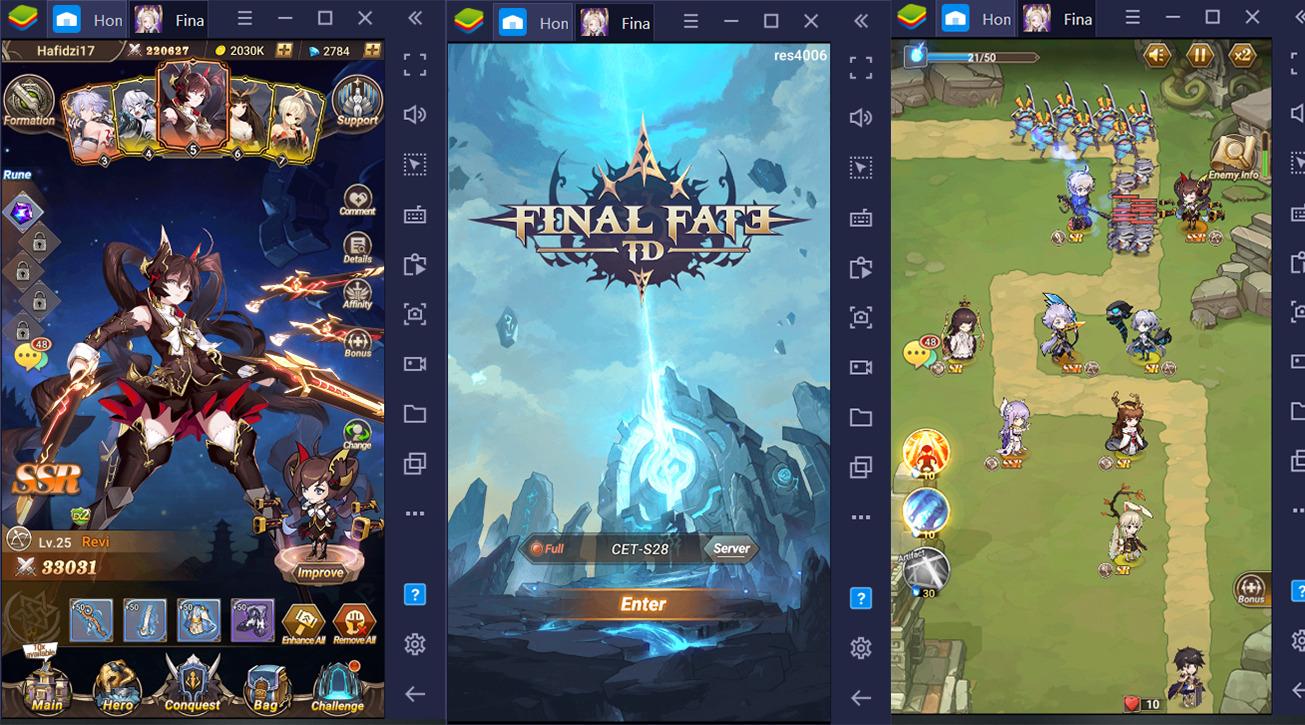 Cara Asyik Main Final Fate TD di PC