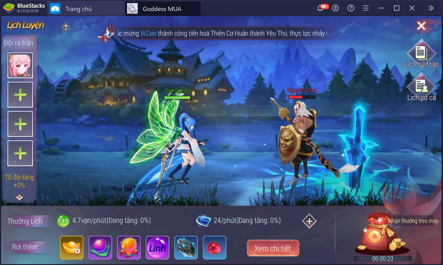 Nhập vai vào thế giới đầy màu sắc trong Goddess MUA cùng BlueStacks