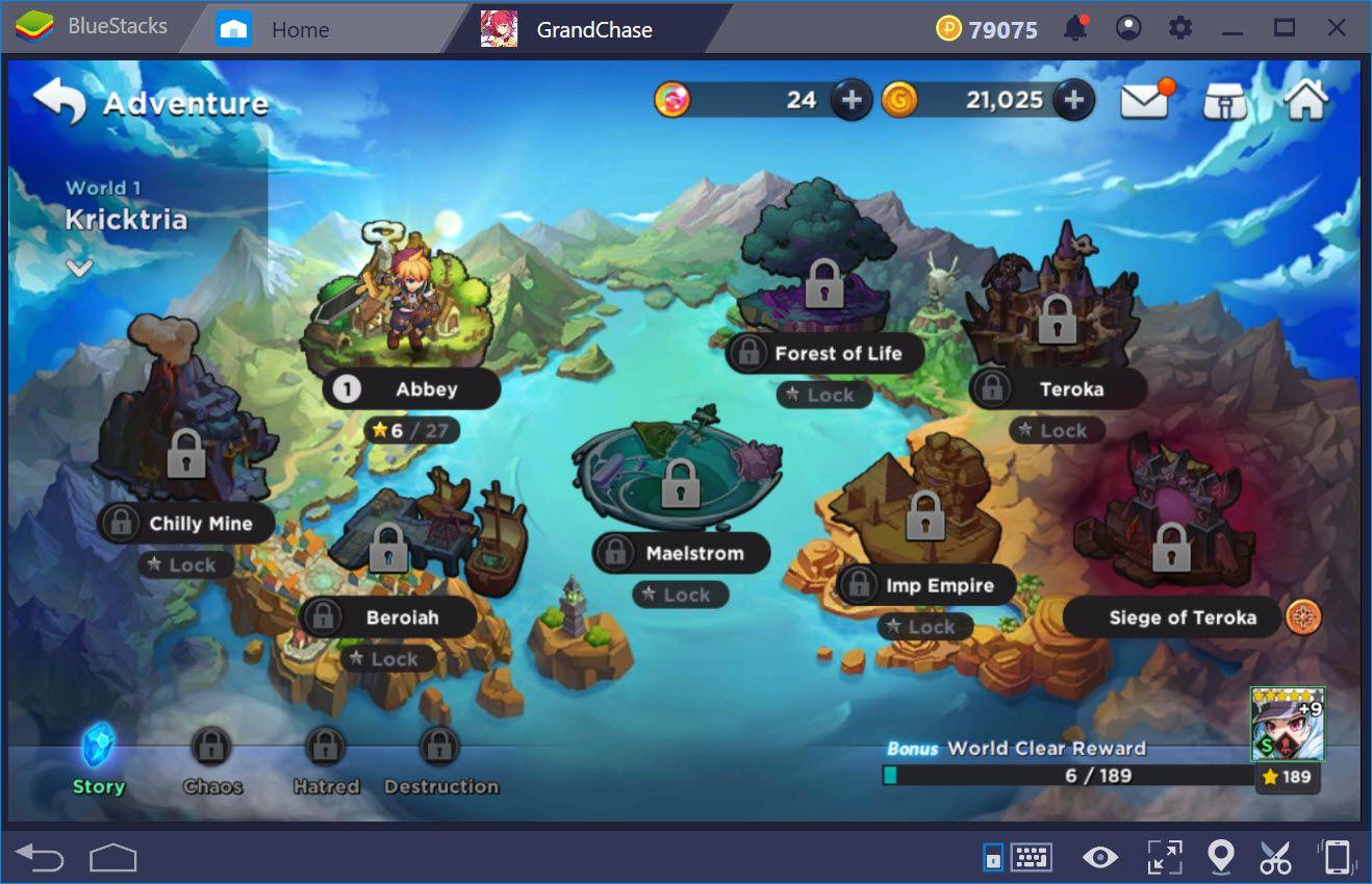 Trải nghiệm GrandChase trên PC với BlueStacks