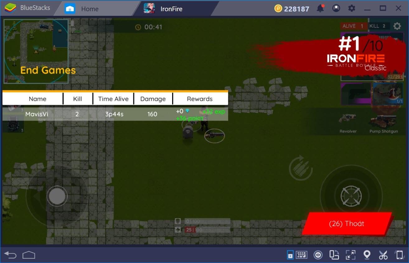 Trải nghiệm IronFire: Tuyệt Đỉnh Sinh Tồn trên PC với BlueStacks