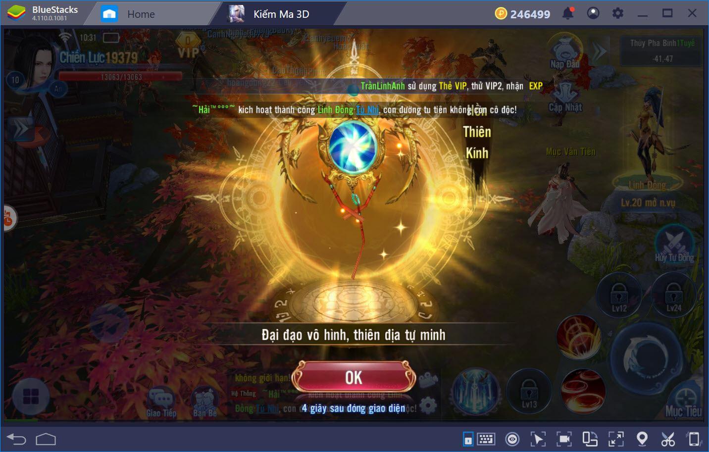 Trải nghiệm Kiếm Ma 3D cùng BlueStacks trên PC