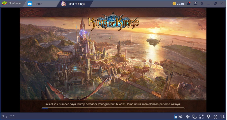 Cara Pemula Keren Main King of Kings di PC dengan Bluestacks