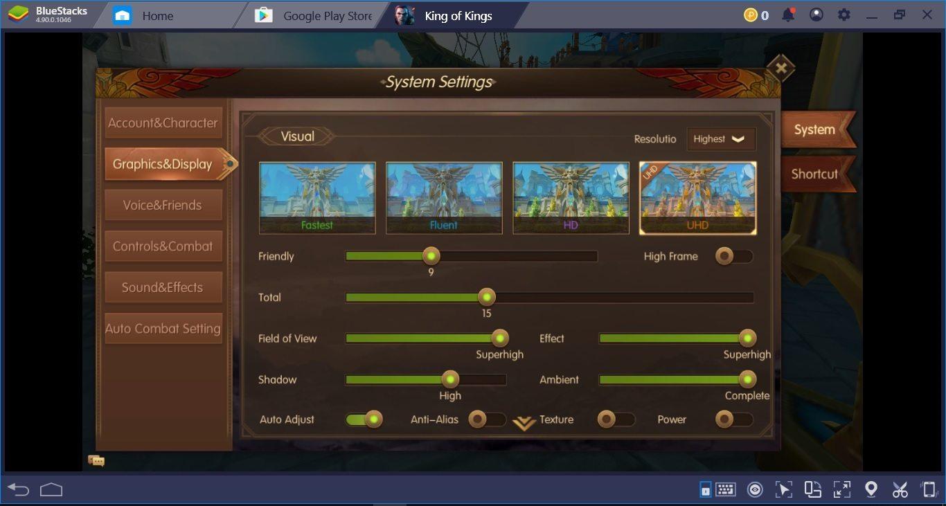 เล่น King of Kings – SEA ใน PC แบบลื่น ๆ กับ BlueStacks