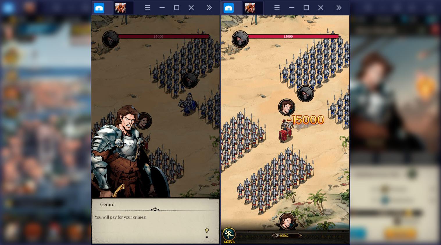 Tranh giành ngôi vương cùng King's Throne: Game of Lust trên BlueStacks