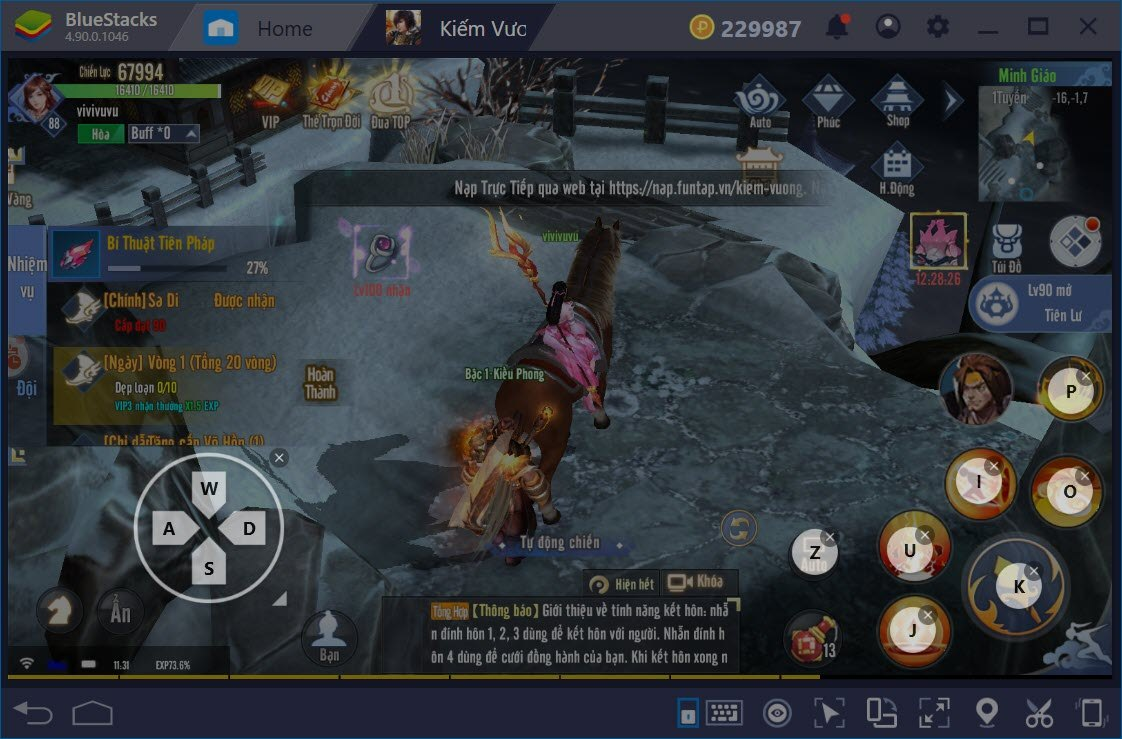 Cùng chơi Kiếm Vương Truyền Kỳ trên PC với BlueStacks
