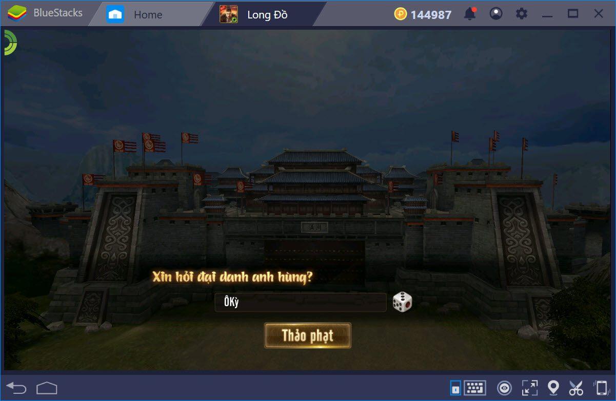 Trải nghiệm Long Đồ Bá Nghiệp trên PC cùng BlueStacks