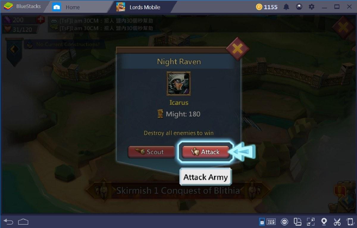 Bermain Lords Mobile dengan Nyaman di PC untuk Pemula