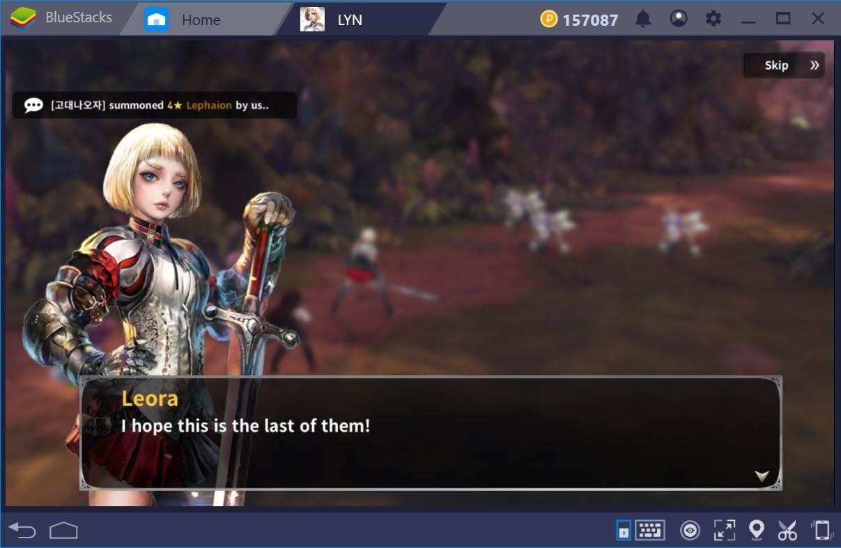 Cùng chơi LYN: The Lightbringer trên PC với BlueStacks