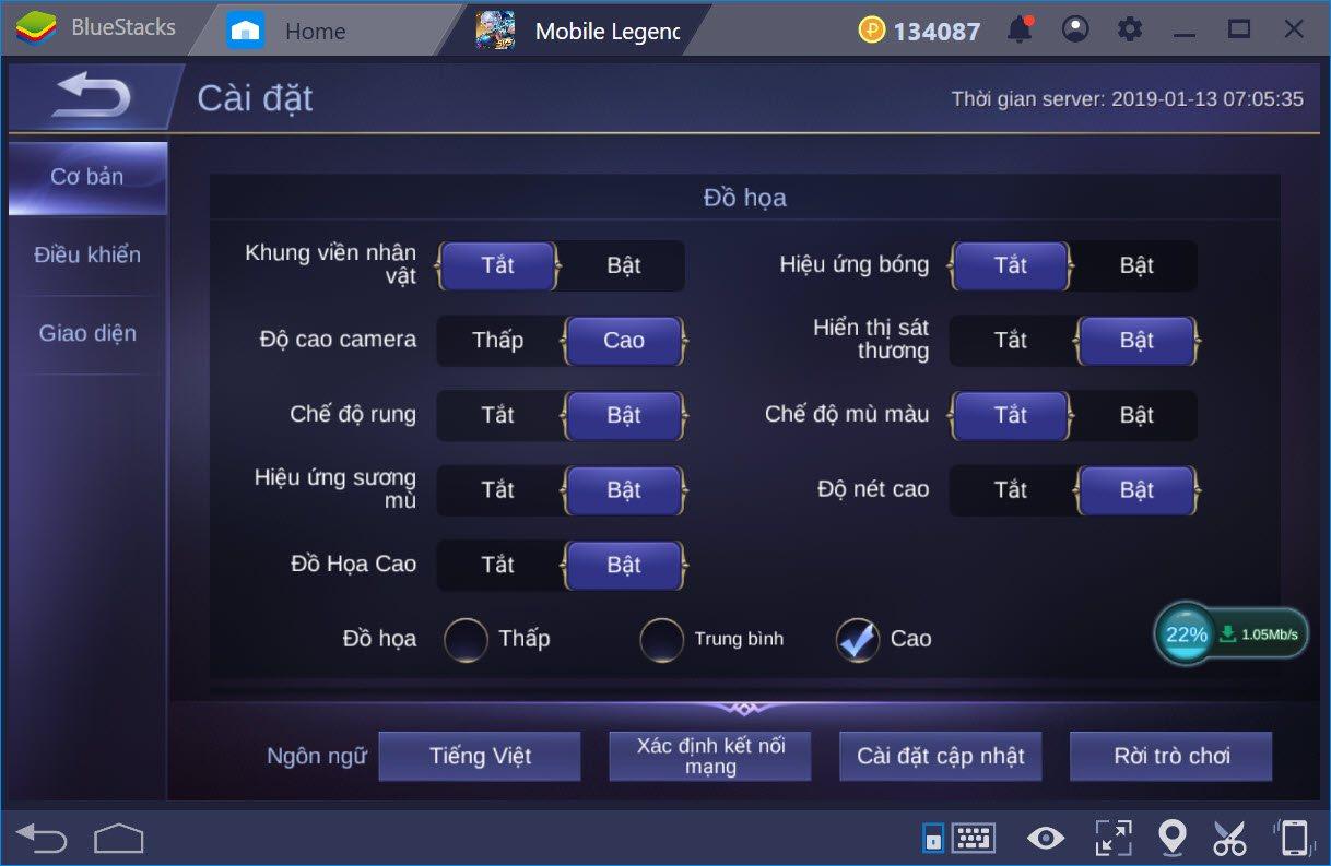 Trải nghiệm Mobile Legends Bang Bang cùng BlueStacks