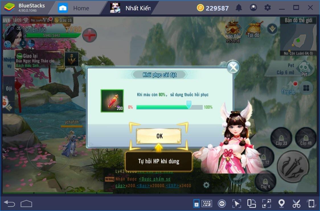 Trải nghiệm Nhất Kiếm Giang Hồ trên PC với BlueStacks