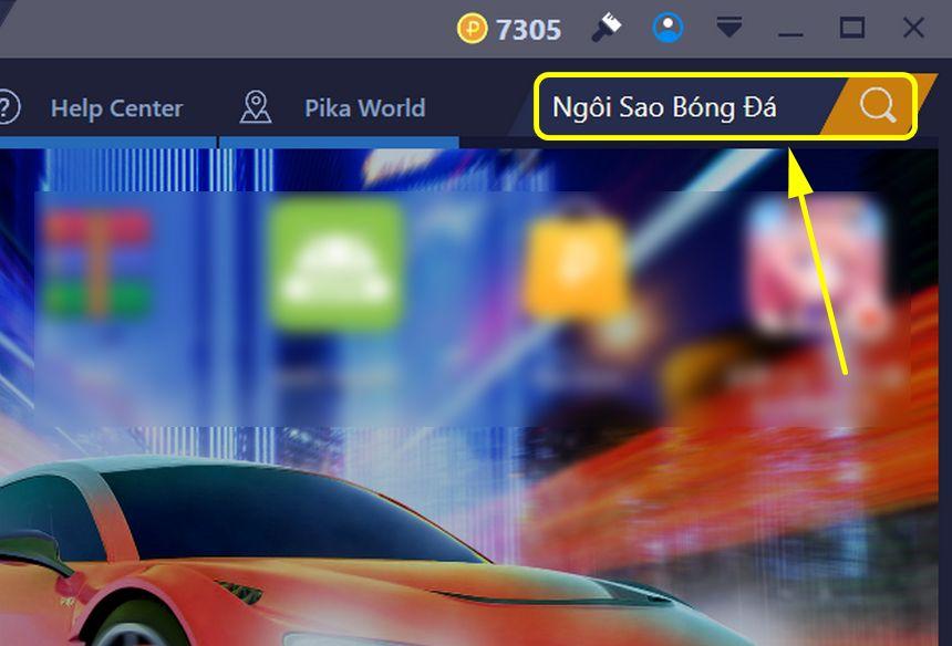 Cách chơi Ngôi Sao Bóng Đá Mobasaka trên máy tính với BlueStacks
