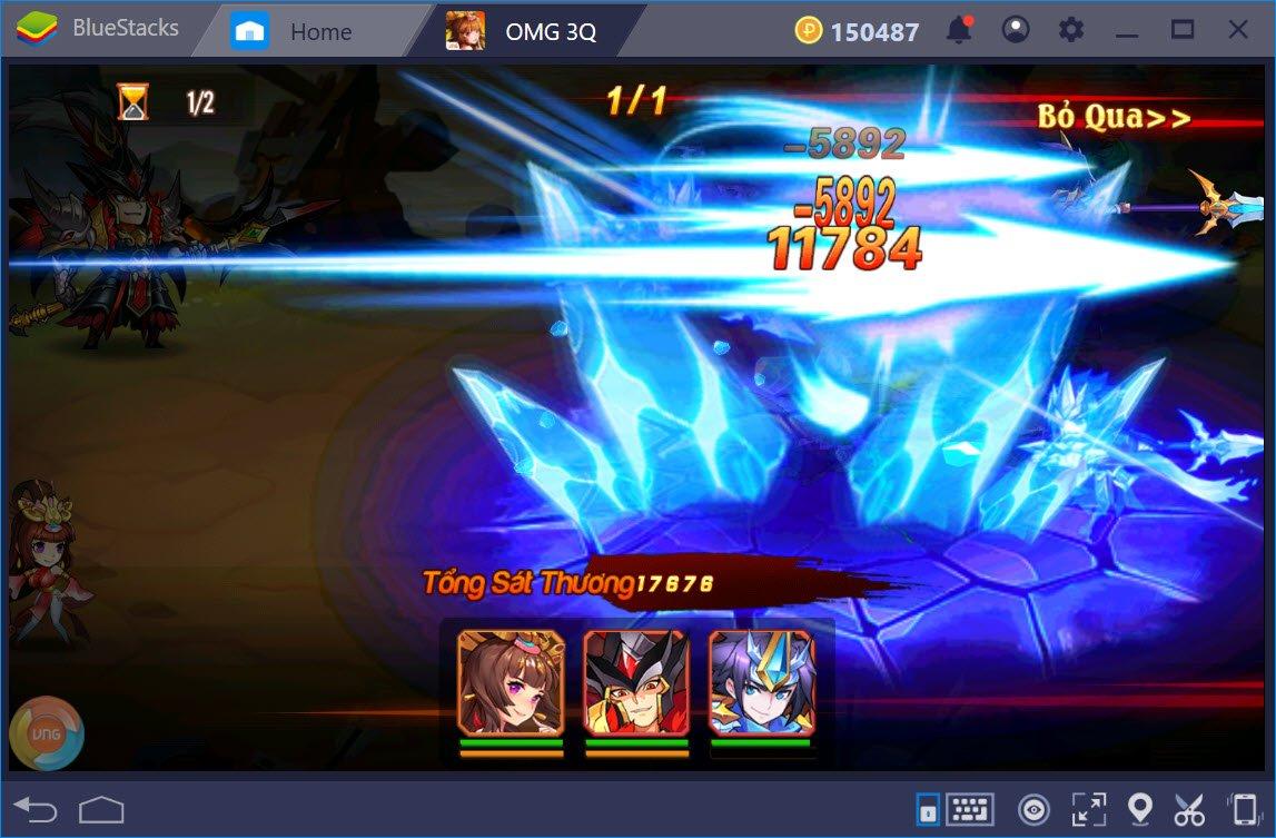 Trải nghiệm OMG 3Q trên PC với BlueStacks