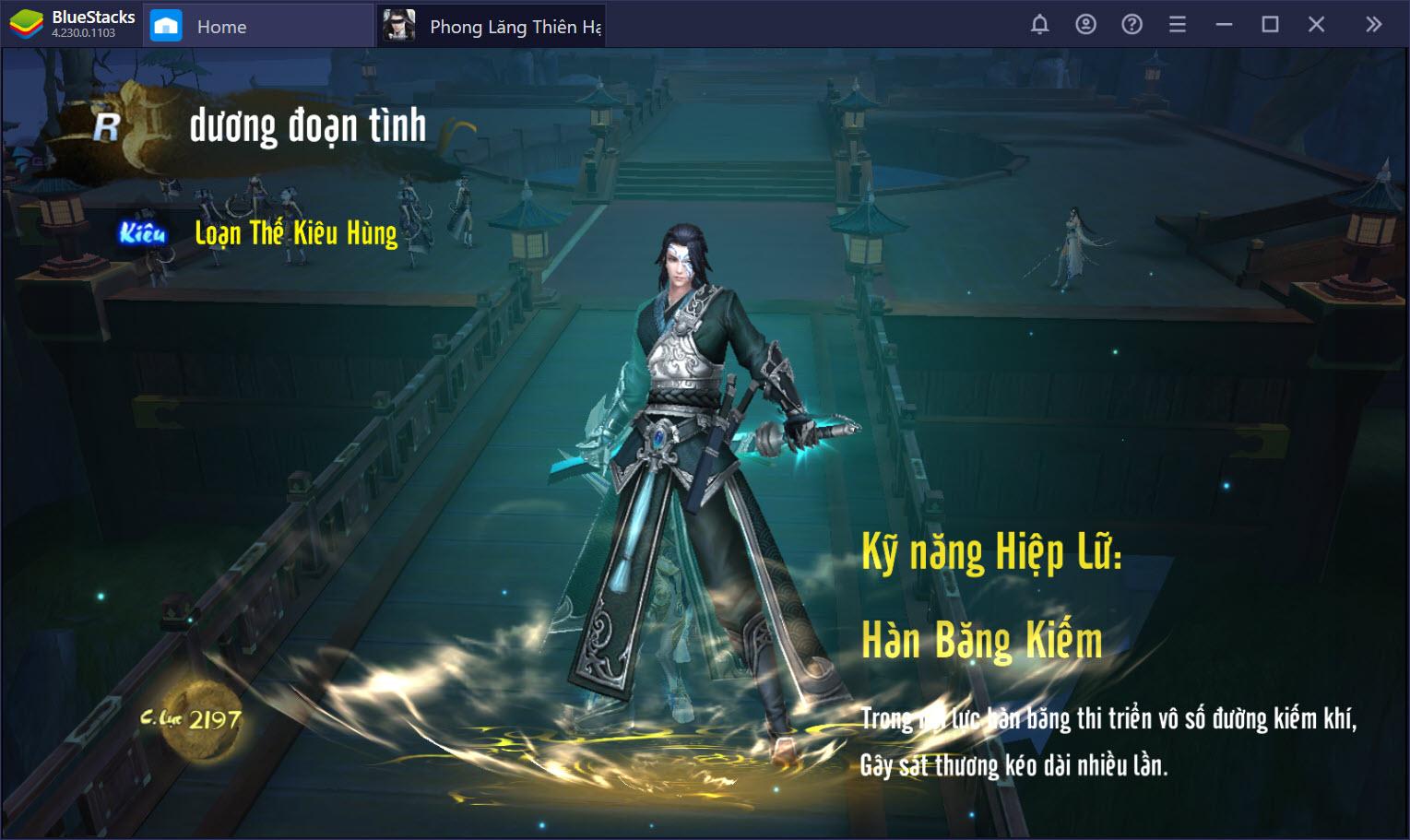 Phiêu du thế giới Phong Lăng Thiên Hạ trên PC cùng BlueStacks