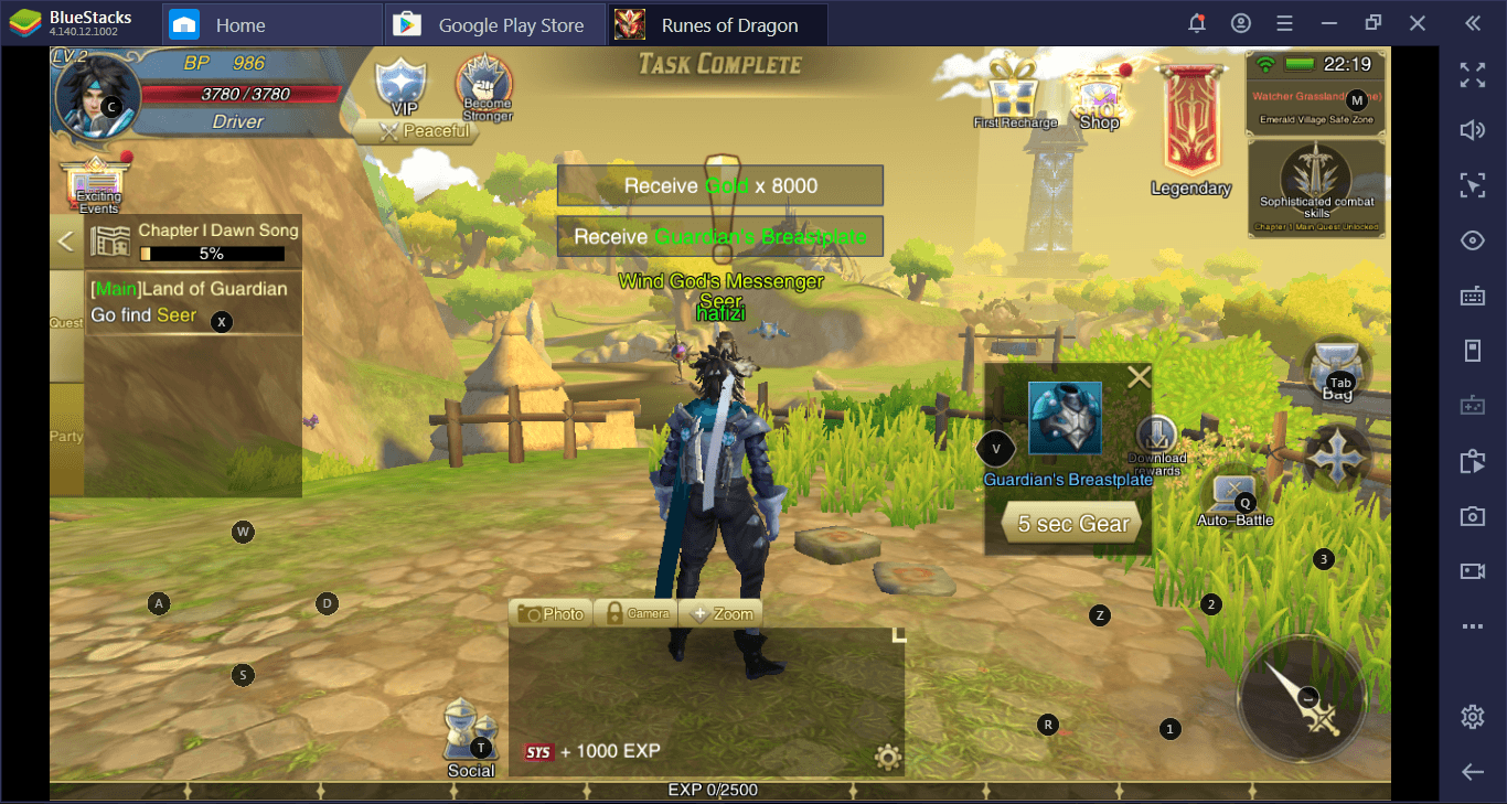 Cara Asyik Main Runes of Dragon di PC dengan BlueStacks