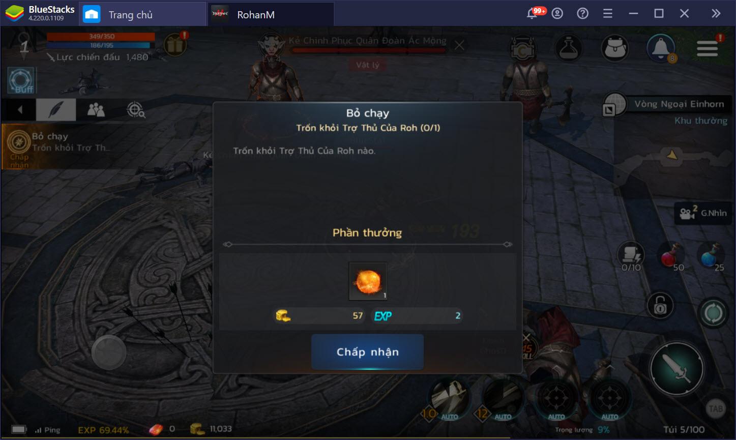 Tận hưởng những trận chiến bất tận trong ROHAN M trên PC với BlueStacks