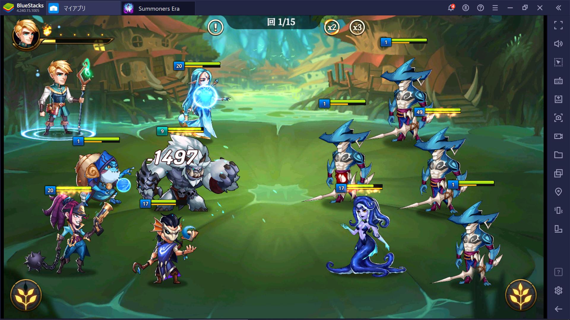 BlueStacksを使ってPCで『Summoners Era – Arena of Heroes』を遊ぼう