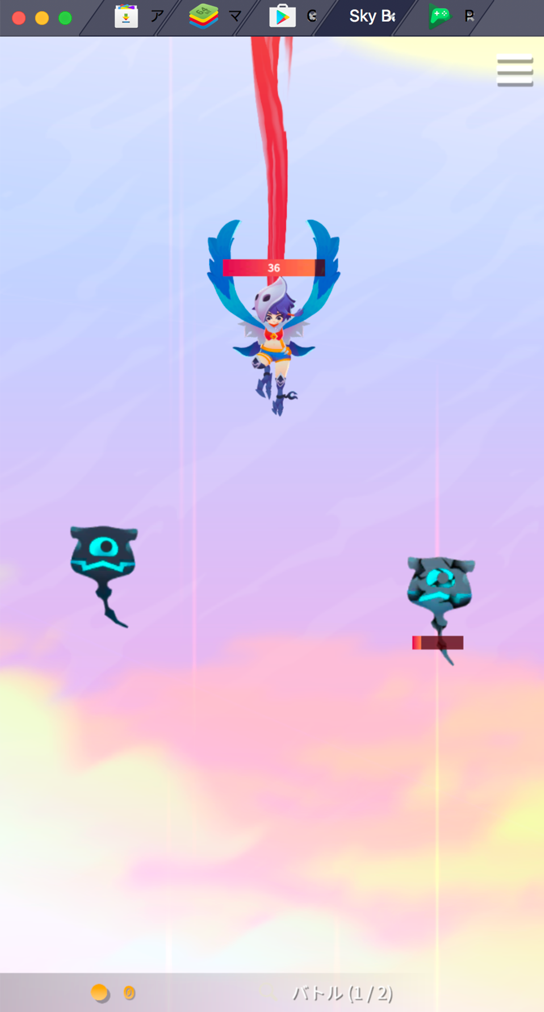 BlueStacksを使ってPCで『Sky Bandit』を遊ぼう