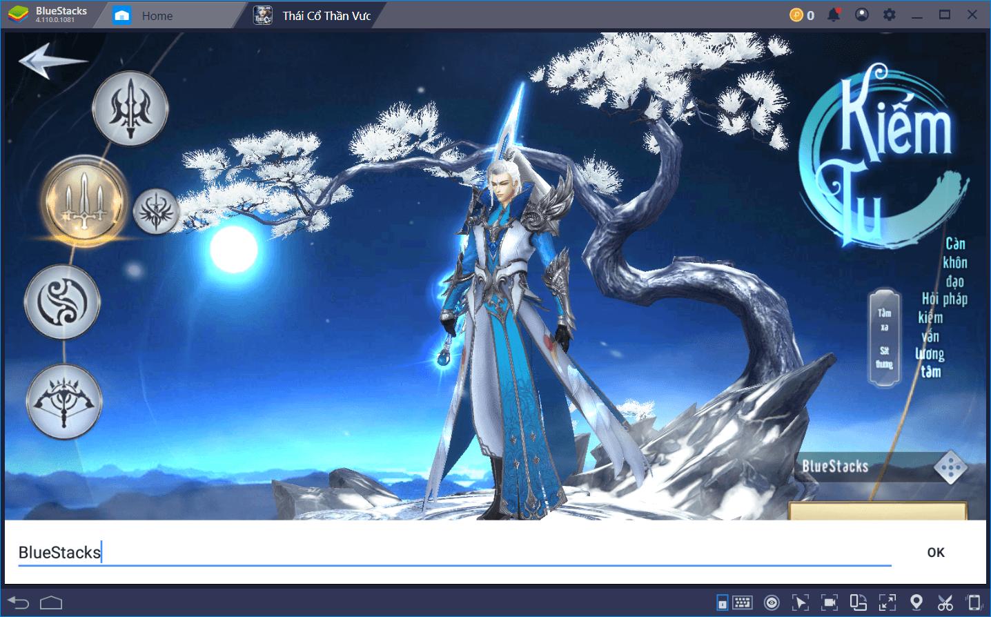 Chơi Thái Cổ Thần Vương trên PC mượt mà hơn với BlueStacks