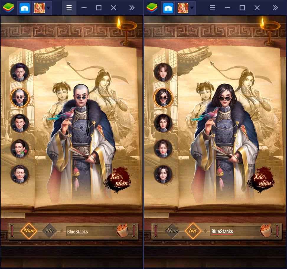 Đại náo triều Thanh cùng Tân Lộc Đỉnh Ký trên BlueStacks