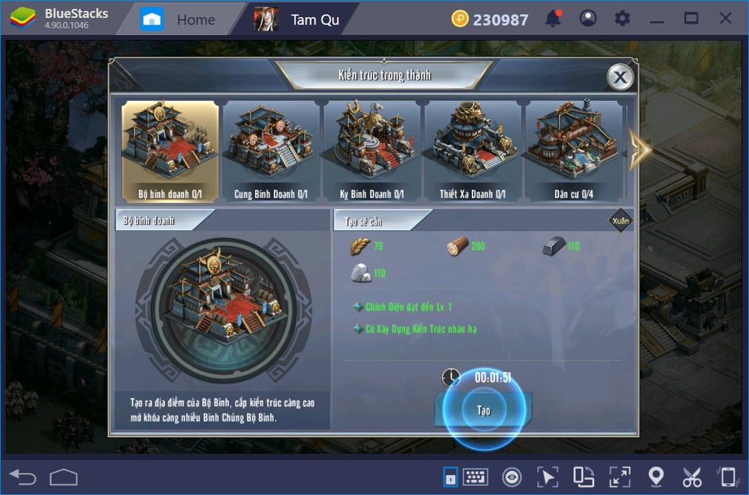 Trải nghiệm Tam Quốc Vương Giả trên PC cùng BlueStacks