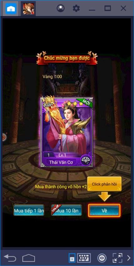 Cùng chơi Vua Tam Quốc trên PC với BlueStacks