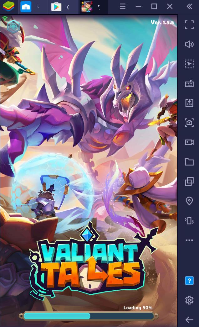 BlueStacksを使ってPCで『ヴァリアントテイルズ』を遊ぼう