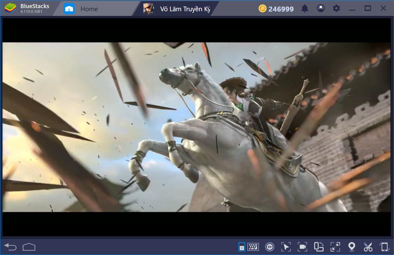Cùng chơi Võ Lâm Truyền Kỳ Mobile trên PC với BlueStacks