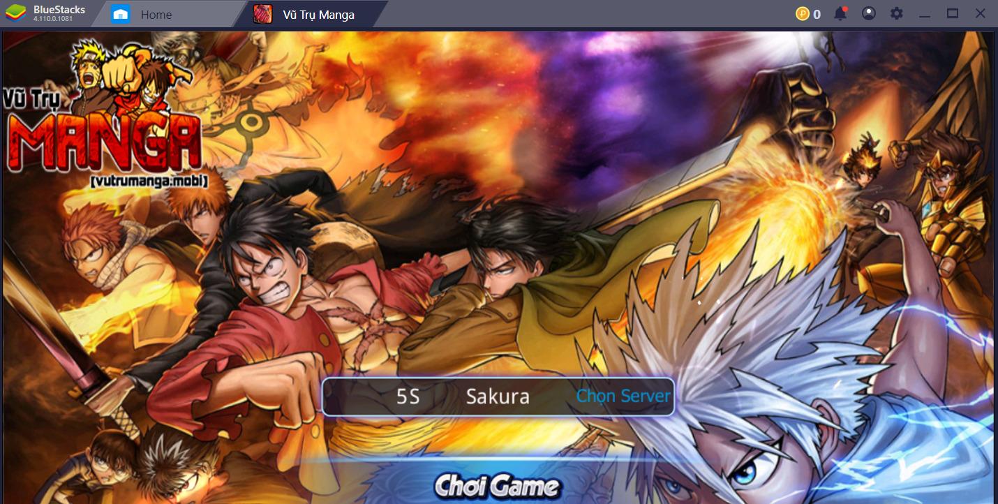 Trải nghiệm Vũ Trụ Manga 2019 trên PC với BlueStacks