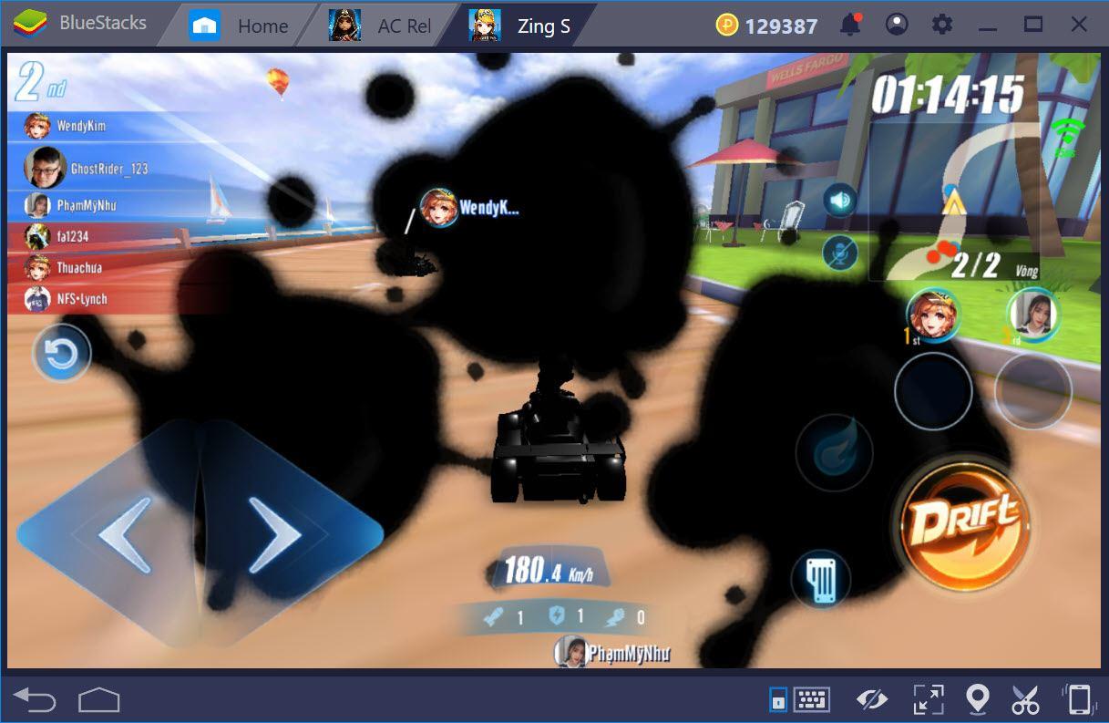 Cùng chơi ZingSpeed Mobile trên PC với BlueStacks