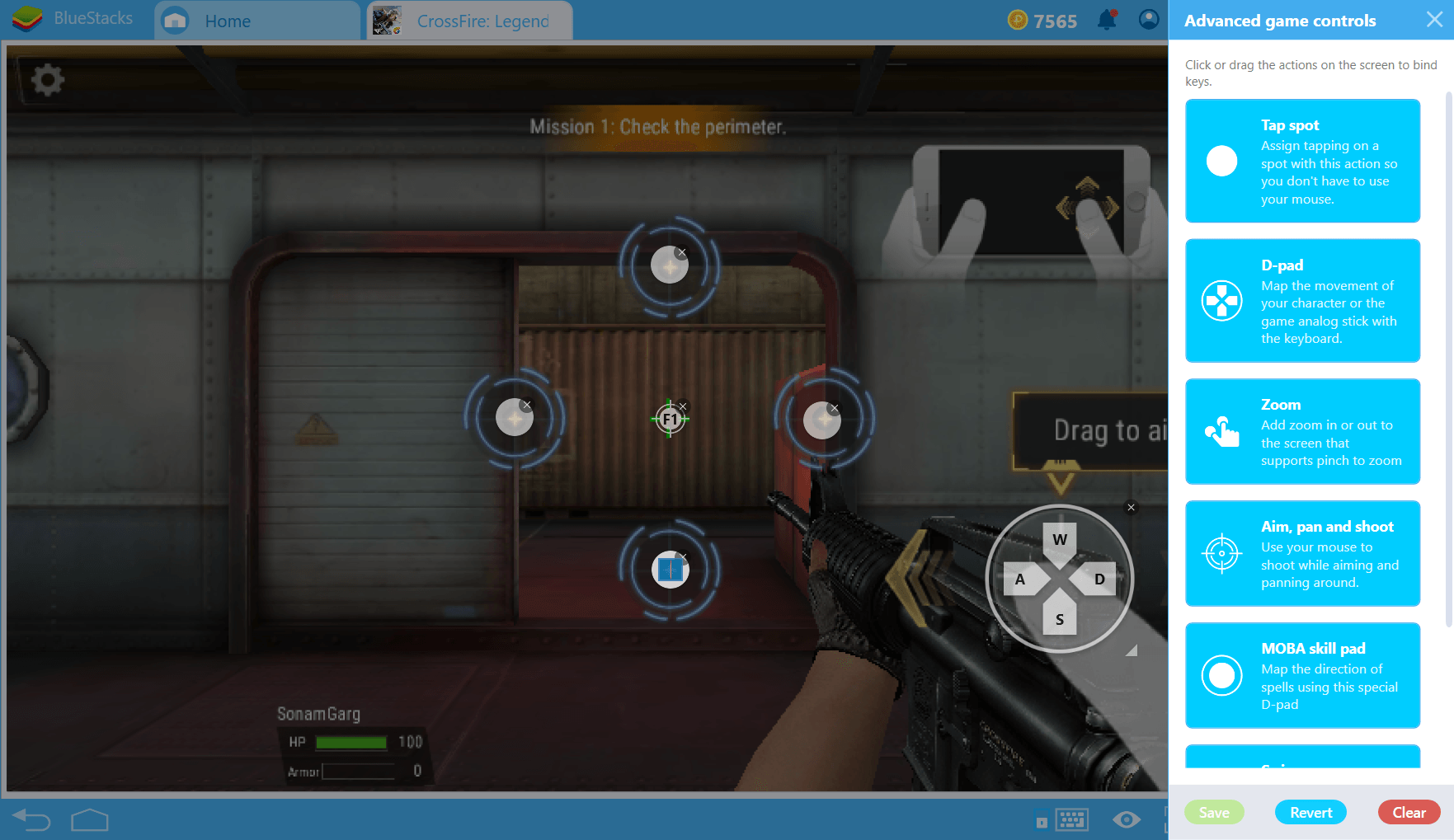 BlueStacks 4: FPS 장르 최적화